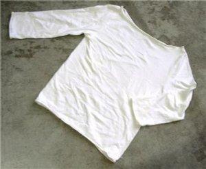 slinky women's white shirt blouse size 2