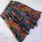 Purple colorful split skirt / pants sz 42
