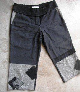 Black Gray 7/8 pants used SZ m (2)