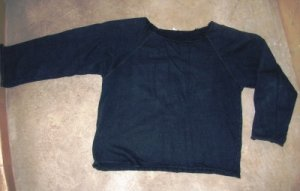 Women's blue navy sweatshirt sz S