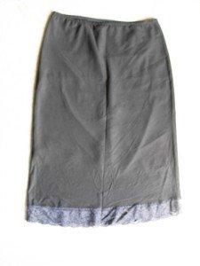 black Knee-length Skirt SZ s-m