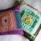 2 Decorative  Oriental  Pillows