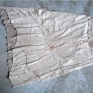 """BEIGE KNEE LENGTH Skirt by """"donna gay"""" Sz 38"""