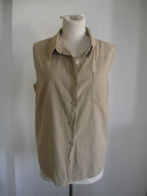 Women's Sag Harbor shirt jacket beige Size large