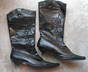 Fashion Boots Womens Shoes heels pumps Size 38
