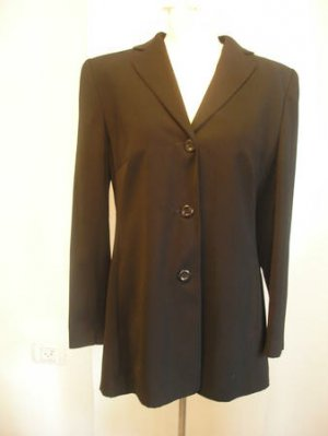 Viventy women black dress blazer Jacket top sz 42