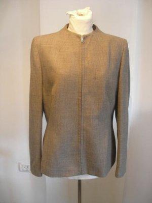 Ann Taylor Loft women beige dress blazer Jacket top sz 10