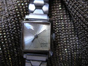 Rare vintage DOXA Grafic wristwatch from 60's - 70's