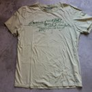 HEAVY TOOLS Mens Yellow T-Shirt sz S
