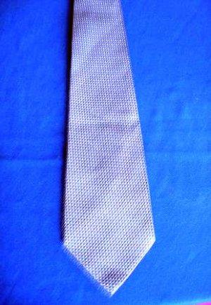 Vintage mens GIORGIO CAVALLI Italian blue gray tie