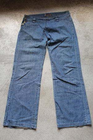 CACAO junior blue jeans dżinsy low rise pants trousers Pantaloni Hosen sz XS