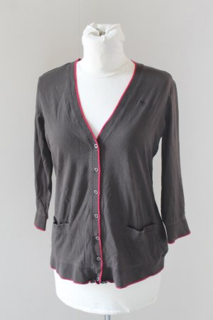 ESPRIT long sleeve shirt v-neck button down sz S