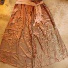 DORIN FRANKFURT Womens elegant pants skirt Pink Green sz 3