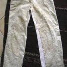 Women junior ONEWAY beige patches pants sz 1