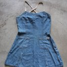 NAF NAF League  Sexy Vintage Jeans Junior mini summer dress sz S