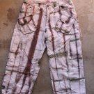 MAX&CO Women Junior Beige Brown 7/8 Pants Trousers Pantalons Hosen Sz 40