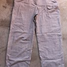 Exspress BLEUS Junior khaky Cargo Pants Trousers Pantalons Hosen sz 7/8