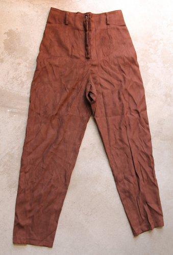 CHLOE'S Brown nwot Junior Pants Trousers Pantalons Hosen sz 38