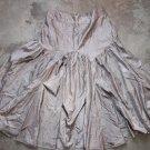 CARPINI Silver Gray Elegant Flared Wide Skirt Gonna Юбка Jupa sz 6