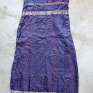 Maxi Sleeveless Spagetti straps Blue-Purple Dress Robe Abito Платье Sz 3