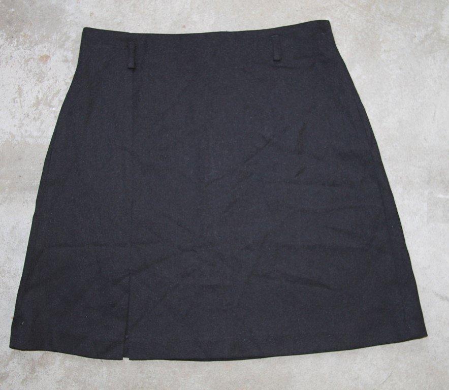 LONDON Black Mini Skirt Gonna Юбка Jupa sz 2