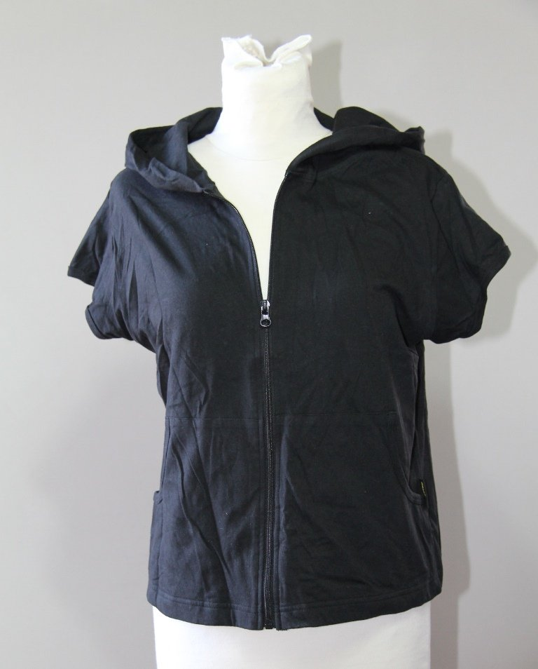 RENEGADE CLUB New black Hoodie Jacket Shirt Blouse Sz XLARGE