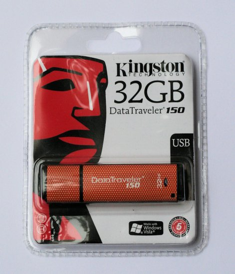 Kingston DataTravel 150 - 32GB USB 2.0 - BRAND NEW