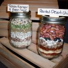 Painted Desert Chili and Texas Ranger 9 Bean Soup Mixes in Wooden Crate (2 soup mixes)