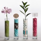 Printed Bud Vase - Free Personalization - Price Quoted as Qty 12