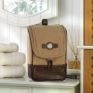 Canvas and Leather Travel Kit - Free Personalization