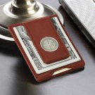 Leather Wallet and Money Clip - Free Personalization