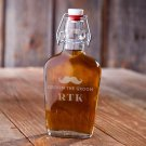 Vintage Glass Flasks - Free Personalization