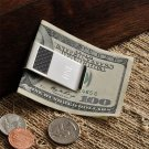 Carbon Fiber Money Clip - Free Engaving