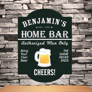 Classic Tavern Bar Signs - Free Personalization
