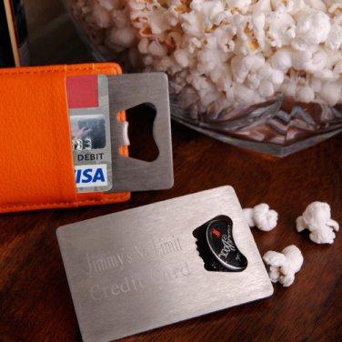 Credit Card Bottle Opener - Free Engraving