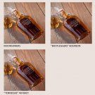 Vintage Replica Glass Flasks - 3 Choices - Free Personalization