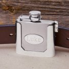 Belt Buckled Flask - Free Personalization