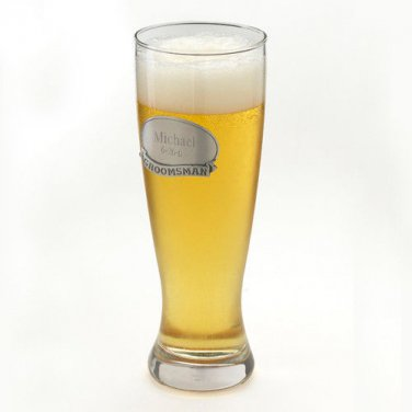 Grand Pilsner w/ Pewter Medallion - Free Personalization