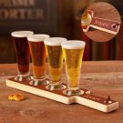 Beer Flight Paddle and Glasses - Free Personalization
