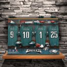 NFL Locker Room Canvas Prints - Free Personalization