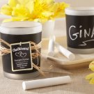 """Chalkboard"" Frosted-Glass Tealight Holder (Set of 24)"