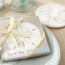 """""""By the Shore"""" Sand Dollar Coaster  (Set of 24) - Free Personalization"""