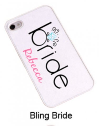 iPhone Cover - Bling Bride