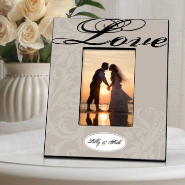 Couple's Frame - Available in 14 designs - Free Personalization