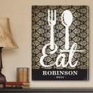 "18""x24"" Canvas - Personalized Bistro Sign Canvas Print - Free Personalization"