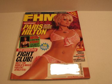 FHM Magazine Paris Hilton March 2004