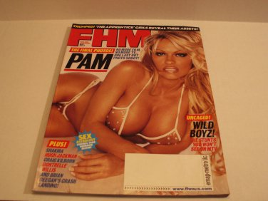 FHM Magazine Pamela Anderson May 2004