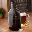 Amber Beer Growler - Free Personalization