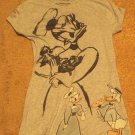 Donald Duck and Daisy Gray Shirt - Disney Classic Collection Size S