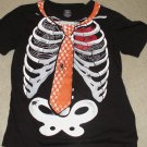 Skeleton with Tie Shirt Size Large